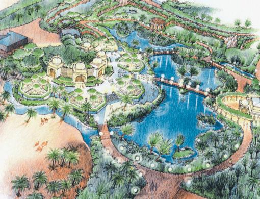 Aerial Rendering of Proposed Zoo