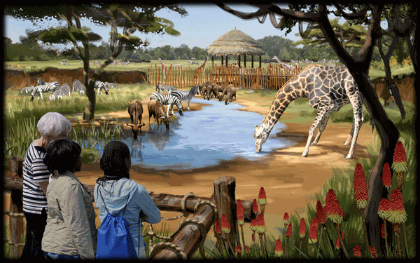 safari africa revealed at columbus zoo designing zoos