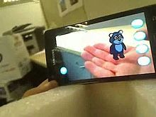 augmented reality via smartphone